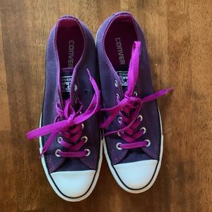 Purple Sz 9 Converse